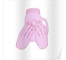 Insta worthy - pink Poster