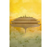 cloud city Photographic Print