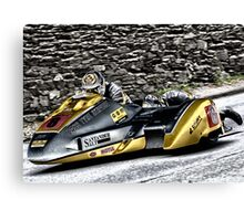 Road Racing at the TT Canvas Print