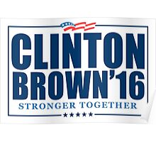 Clinton Brown 2016 Poster