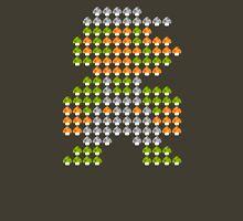 Luigi Mushroom Mosaic Unisex T-Shirt