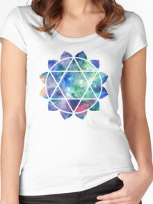 Chakra Anahata Women's Fitted Scoop T-Shirt