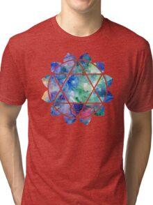 Chakra Anahata Tri-blend T-Shirt