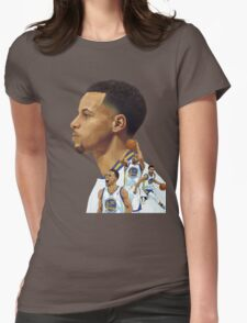 stephen curry Womens Fitted T-Shirt