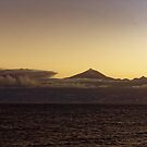 Volcano at Dawn by Steve