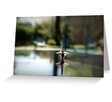 Inception Spinning Top Greeting Card