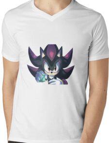 Shadow the Hedgehog Chaos Control Mens V-Neck T-Shirt