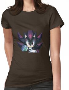 Shadow the Hedgehog Chaos Control Womens Fitted T-Shirt
