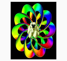 """""""MONKEY IN THE SPHERE"""" Psychedelic Art Deco Print Unisex T-Shirt"""