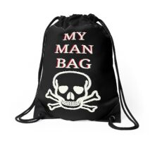 My Man Bag - Skull Drawstring Bag