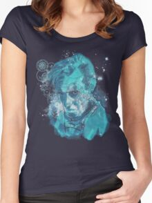 dreaming of gallifrey Women's Fitted Scoop T-Shirt
