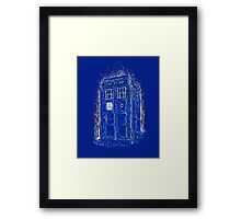 tardis by Vincent Framed Print
