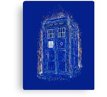 tardis by Vincent Canvas Print