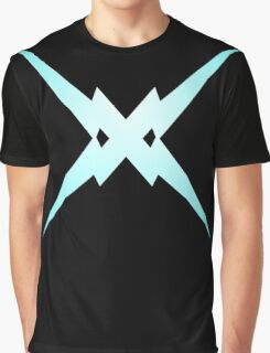 Crossed Lightning Graphic T-Shirt