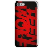 Teen Wolf - blood red iPhone Case/Skin