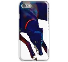 Greyhound Art Watercolour Style iPhone Case/Skin