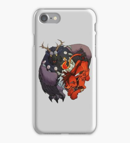 Red XIII and Moonkin iPhone Case/Skin