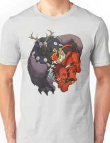 Red XIII and Moonkin Unisex T-Shirt