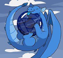 Sodalite dragon by Clair C