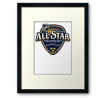 NHL ALL STAR 2016 NASHVILLE Framed Print