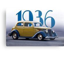 1936 Ford Tudor Sedan Metal Print
