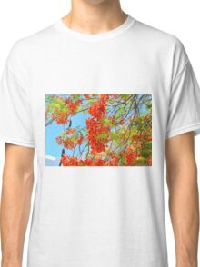 Red Flower Mexico Classic T-Shirt