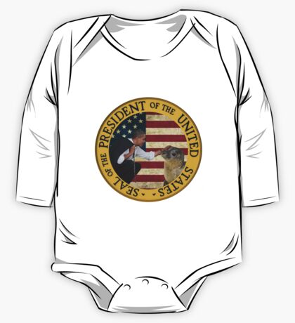 Seal of the President of the United States One Piece - Long Sleeve