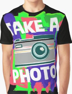 Cool Photographer design Graphic T-Shirt