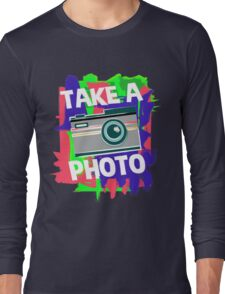 Cool Photographer design Long Sleeve T-Shirt