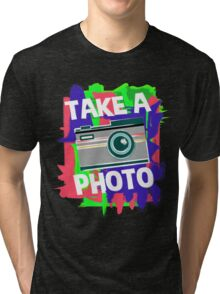 Cool Photographer design Tri-blend T-Shirt
