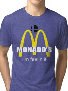 Monado's - i'm feelin it - SM4SH Tri-blend T-Shirt