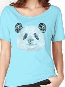 Swirly Panda Women's Relaxed Fit T-Shirt
