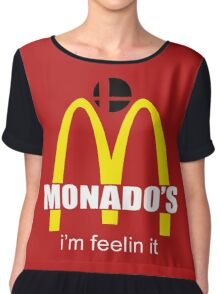Monado's - i'm feelin it - SM4SH Chiffon Top