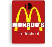 Monado's - i'm feelin it - SM4SH Canvas Print