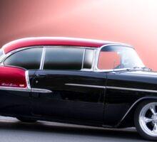 1955 Chevrolet Bel Air 'Two Door Hardtop' Sticker
