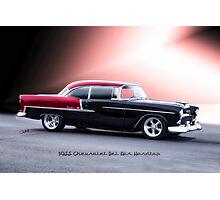 1955 Chevrolet Bel Air 'Two Door Hardtop' Photographic Print