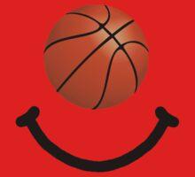 Basketball Smile One Piece - Short Sleeve