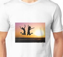 Youth jumping Unisex T-Shirt