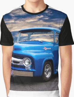 1956 Ford F100 Pickup Graphic T-Shirt