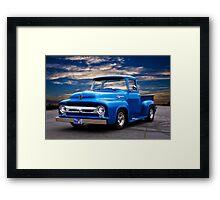 1956 Ford F100 Pickup Framed Print