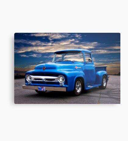 1956 Ford F100 Pickup Metal Print