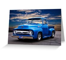 1956 Ford F100 Pickup Greeting Card
