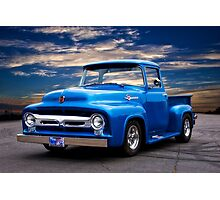 1956 Ford F100 Pickup Photographic Print