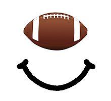 Football Smile Photographic Print