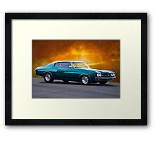 1970 Chevelle Malibu Framed Print
