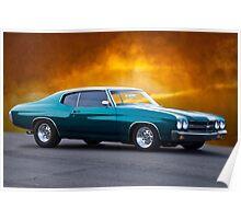 1970 Chevelle Malibu Poster