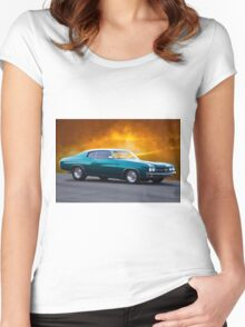 1970 Chevelle Malibu Women's Fitted Scoop T-Shirt