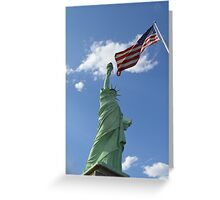 Liberty & Justice Greeting Card