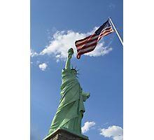 Liberty & Justice Photographic Print