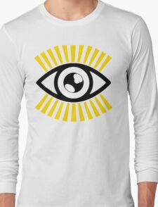 Shiny Eye Long Sleeve T-Shirt
